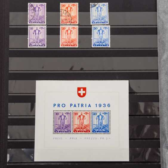 Switzerland collection of Pro Patria and Pro Juventute from 1912, - photo 5