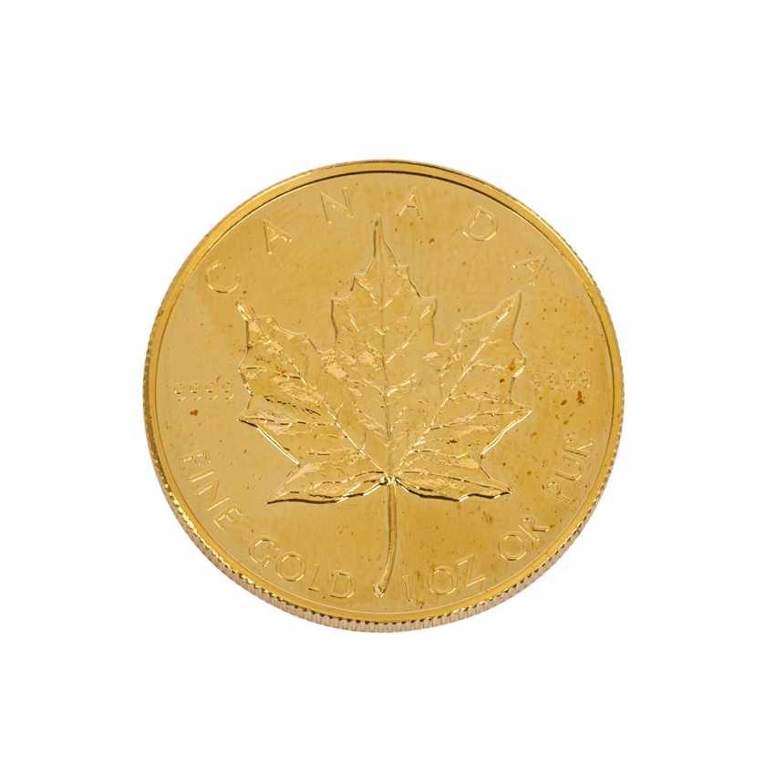 Kanada Gold - 50 Dollars 1988, - photo 1