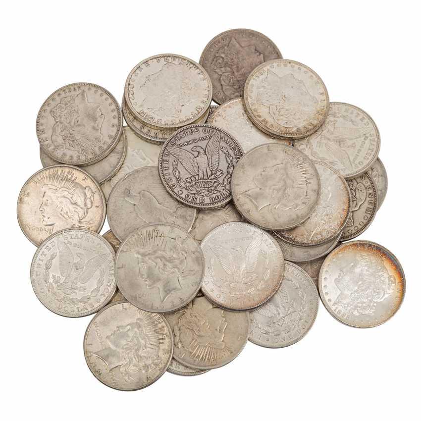 USA/SILVER - 33 x historical silver dollar, - photo 1