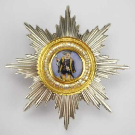 Hesse: Large Hessian Philipps To The Duke Of-Order, 1. Model (1840-1849), Grand Cross Breast Star.