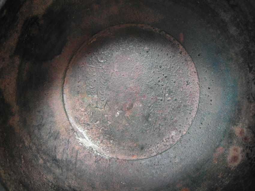 Large AND RARE bronze cymbals - photo 4
