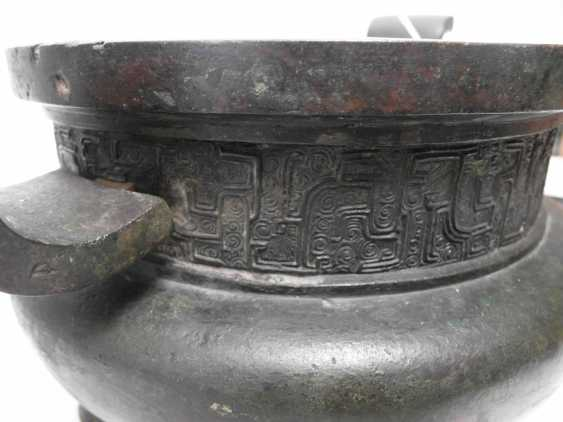 RARE Large AND EARLY incense burner - photo 4