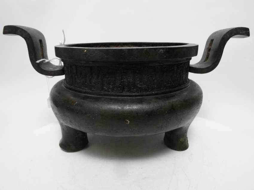 RARE Large AND EARLY incense burner - photo 6