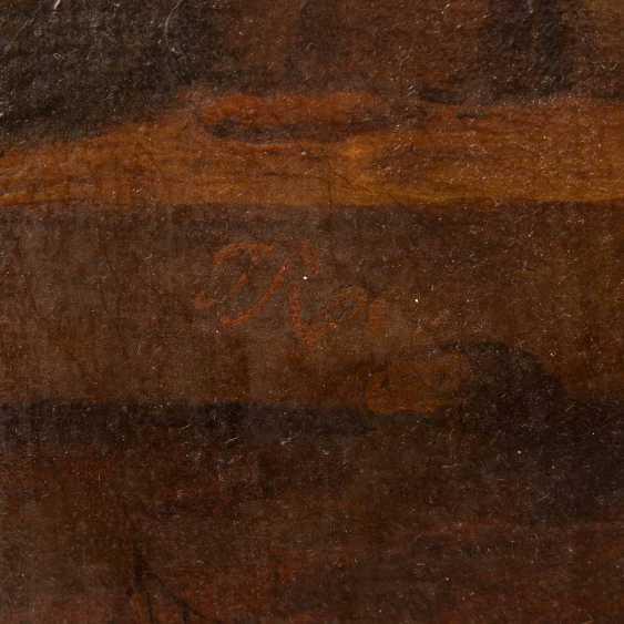 "ROOS, Johann Heinrich, ATTRIBUTED to/the SUCCESSOR (J. H. R.: 1631-1685), ""shepherds idyll"", - photo 4"