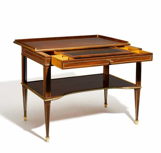 NEO-CLASSICAL WRITING AND WORK TABLE - photo 4