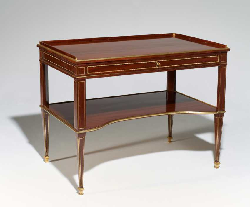 NEO-CLASSICAL WRITING AND WORK TABLE - photo 1