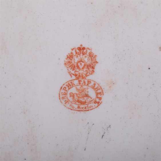 Pair of porcelain relief plaques - photo 4