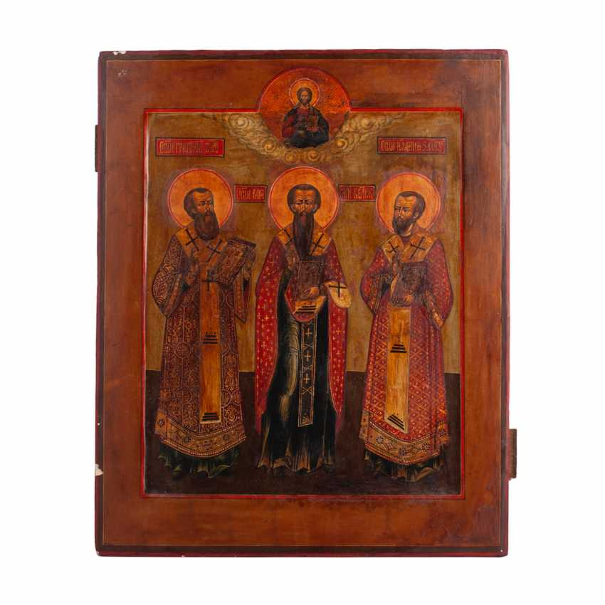 """The icon of the """"Synaxis of the three hierarchs"""" - photo 1"""