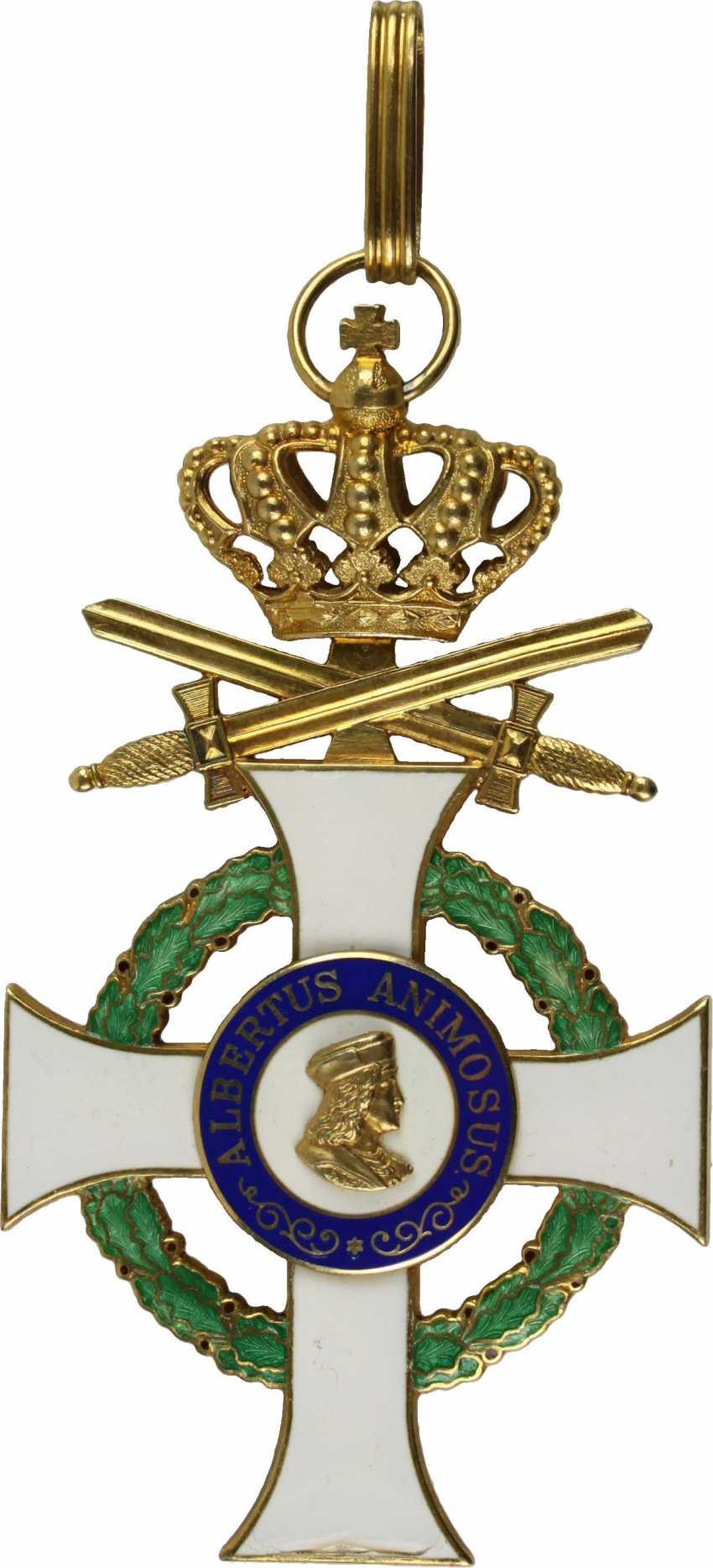 Royal Saxon Albrecht-Order - photo 1