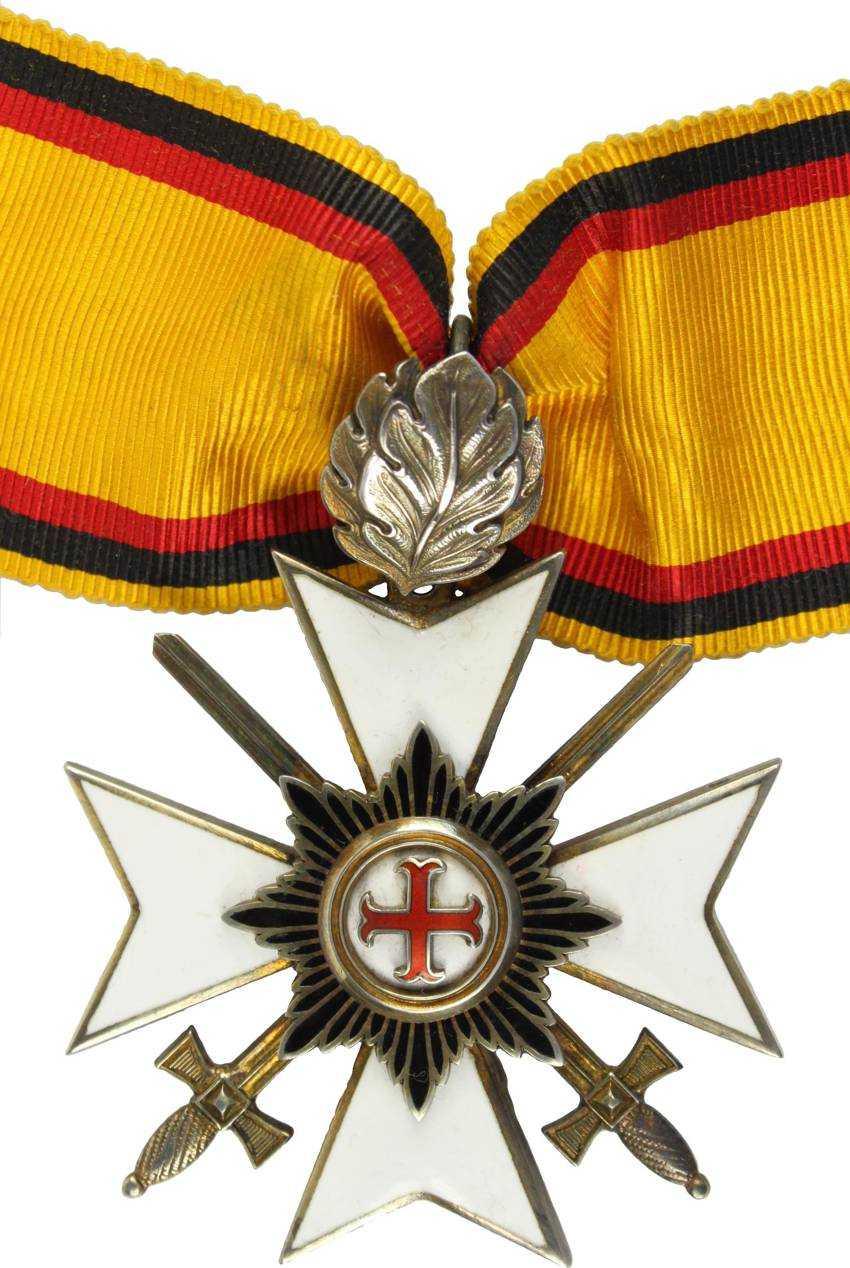 Prince Waldeck's Cross Of Merit - photo 1