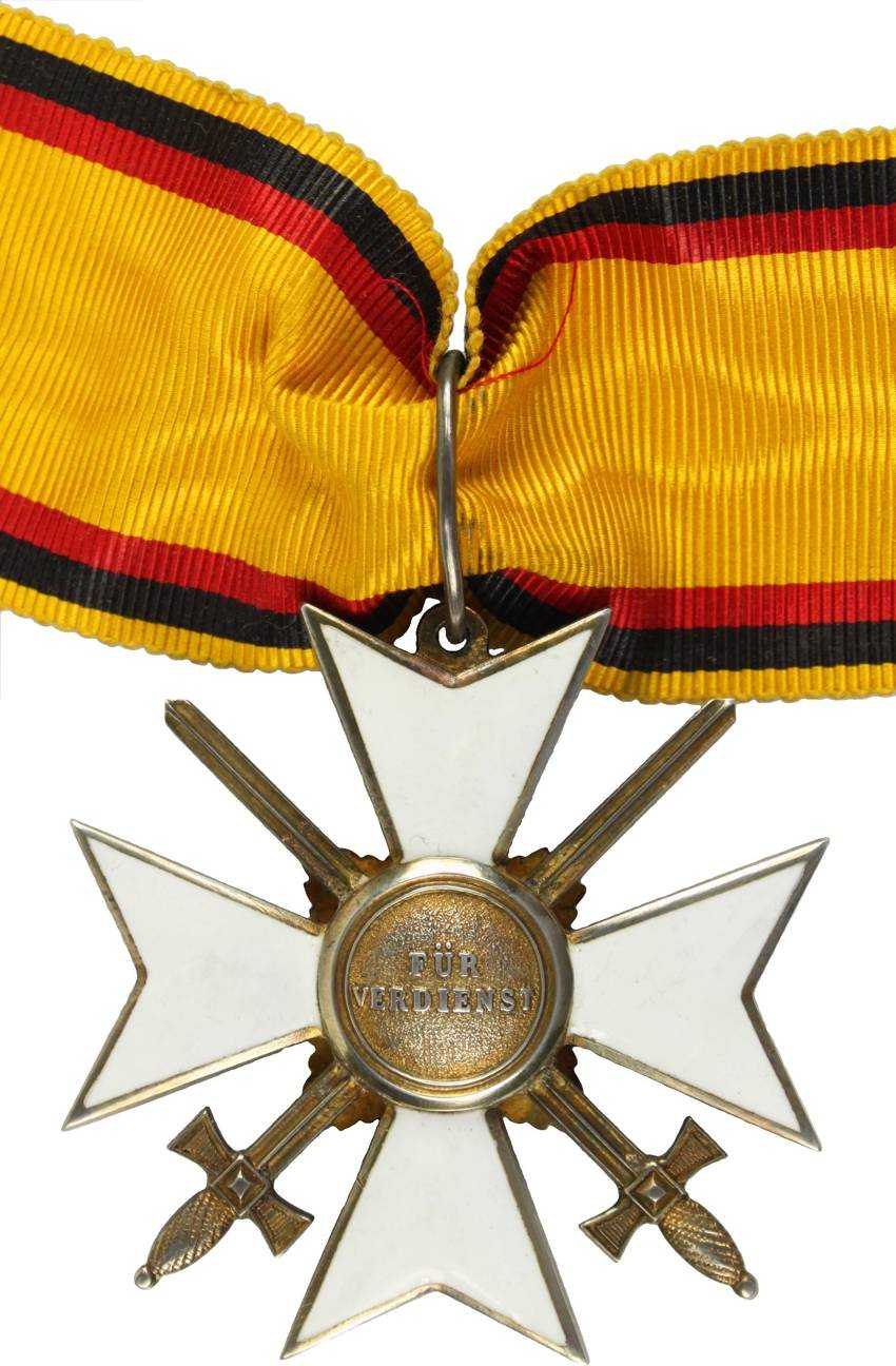Prince Waldeck's Cross Of Merit - photo 2