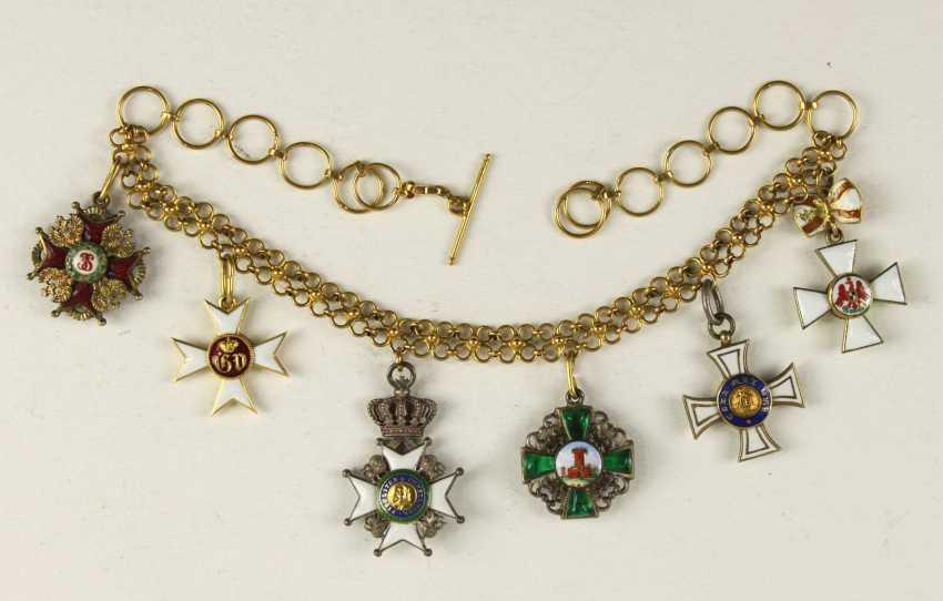 Golden Miniature Chain - photo 1