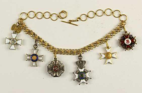 Golden Miniature Chain - photo 2