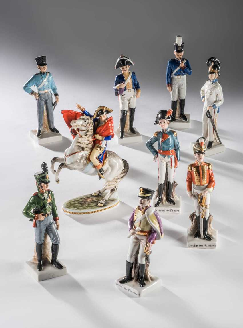 Mixed lot of porcelain figures - photo 1