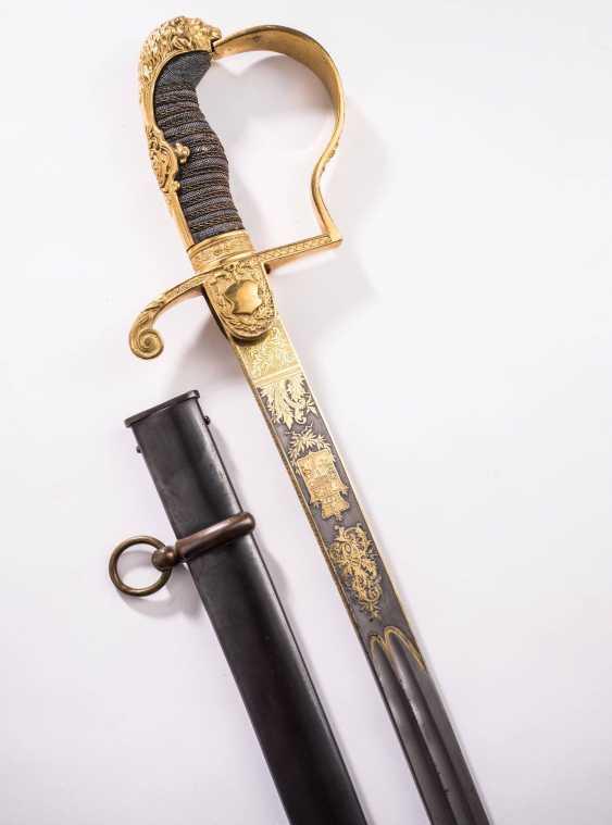 Personal lion's head sabre of Grand Duke Friedrich Franz III - photo 2