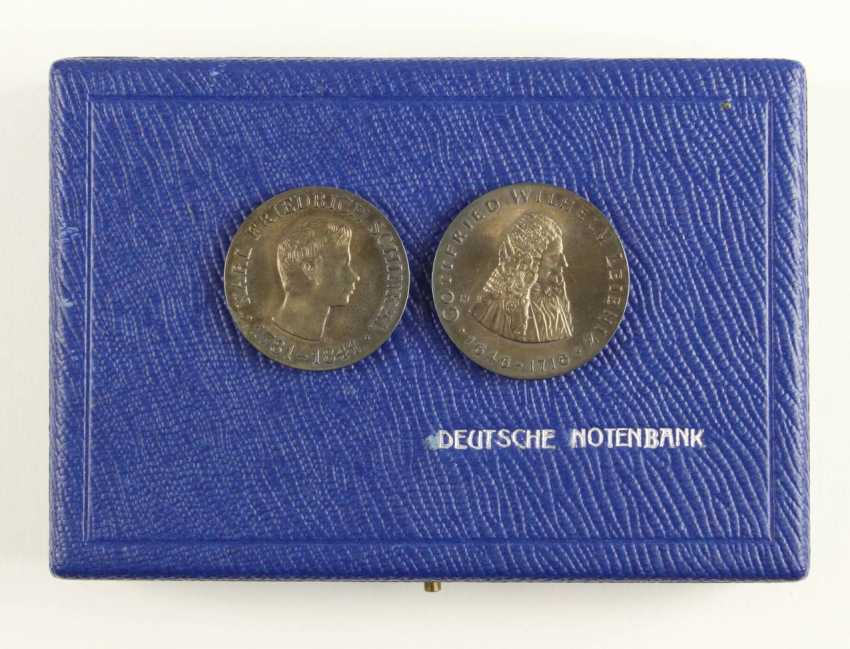 Great collection of 109 commemorative and circulation coins of the GDR - photo 8