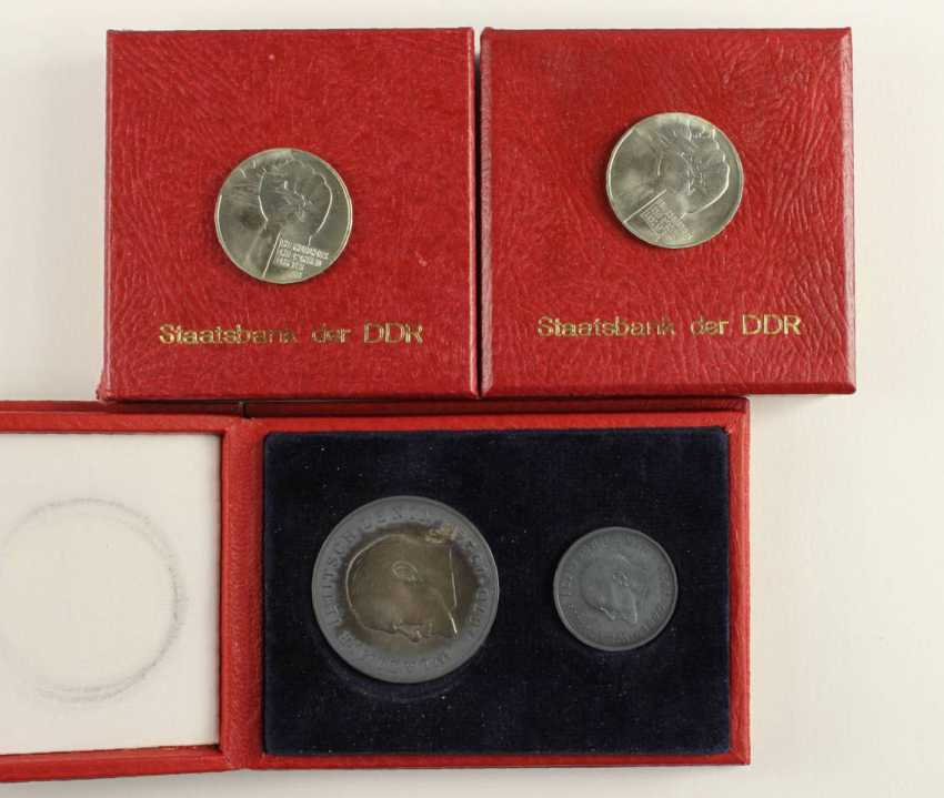 Great collection of 109 commemorative and circulation coins of the GDR - photo 9