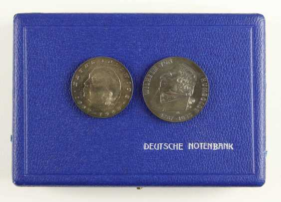 Great collection of 109 commemorative and circulation coins of the GDR - photo 11