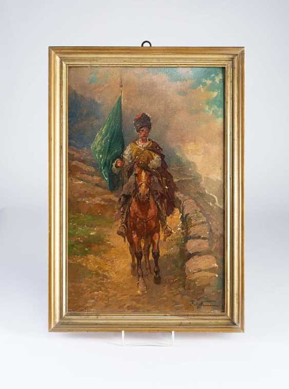 """Painting """"Horse Of The Circassian"""" - photo 1"""