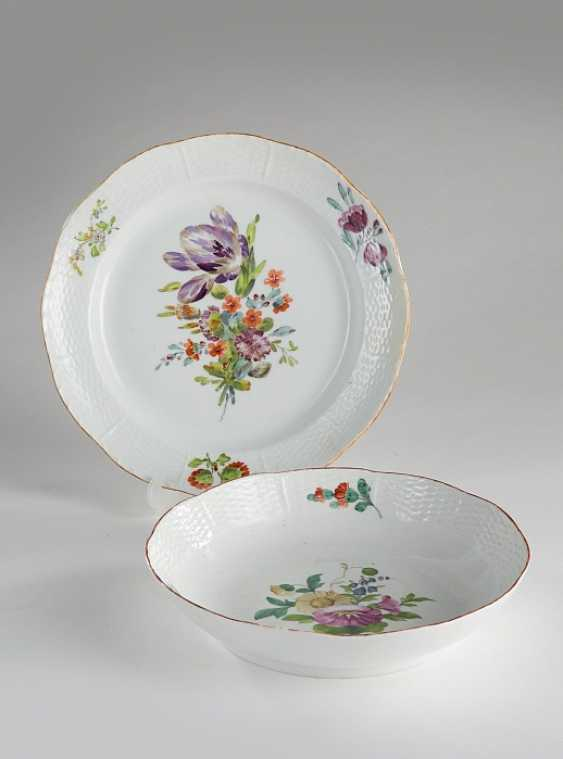 Two plates from the everyday service - photo 1