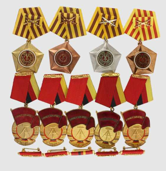 Combat medals of the GDR - photo 1