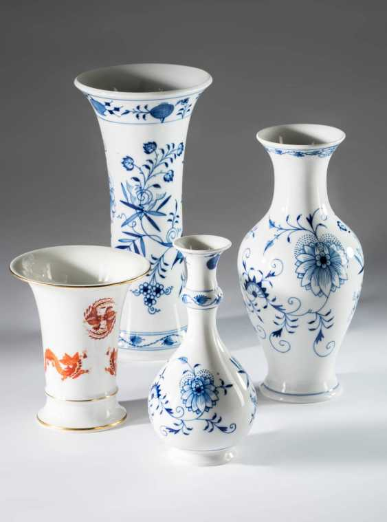 4 Vases Meissen - photo 1