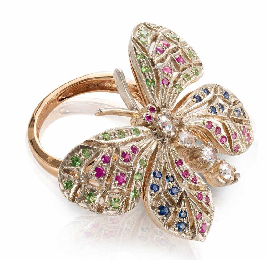 Butterfly ring - photo 1