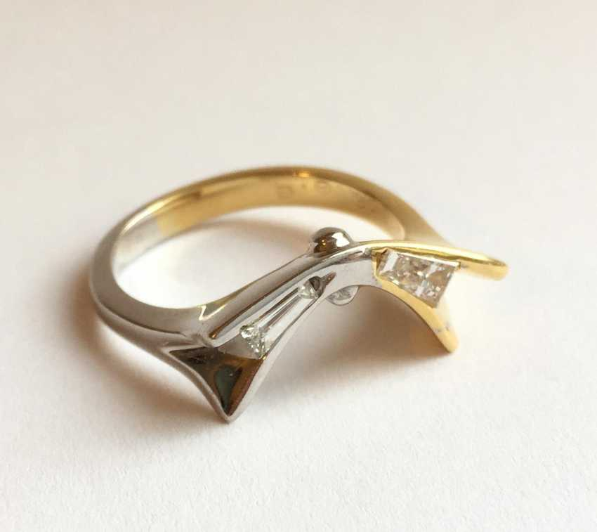 Diamond ring - photo 2