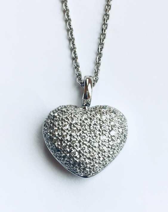 Coeur avec Chaîne - photo 2