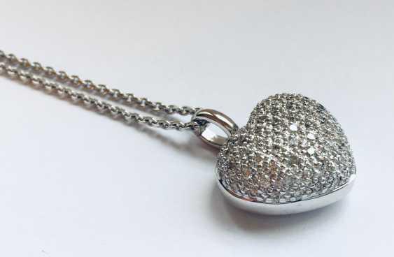 Coeur avec Chaîne - photo 3