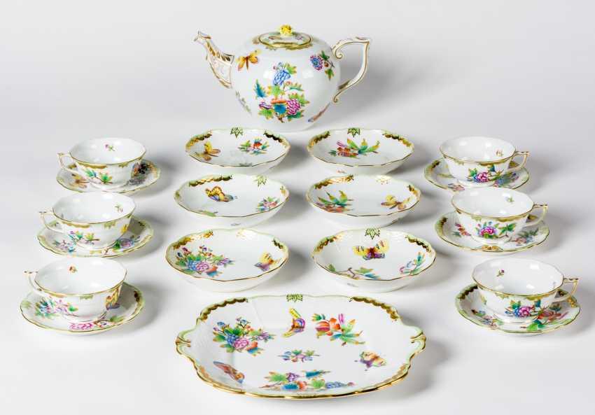 HEREND Tee-Gedeck för 6 Personen - Foto 1