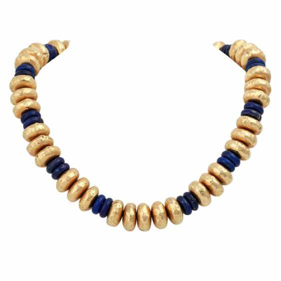 Collier of lapis lazuli - photo 1
