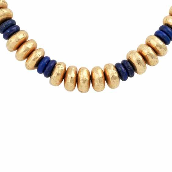 Collier of lapis lazuli - photo 2