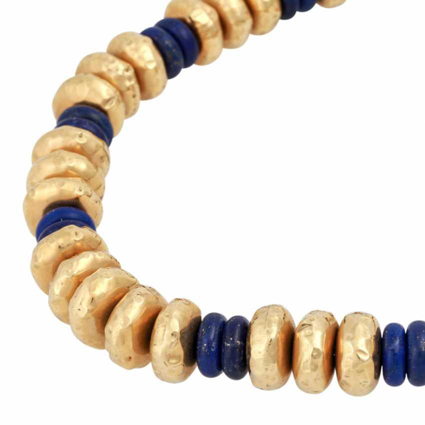 Collier of lapis lazuli - photo 4