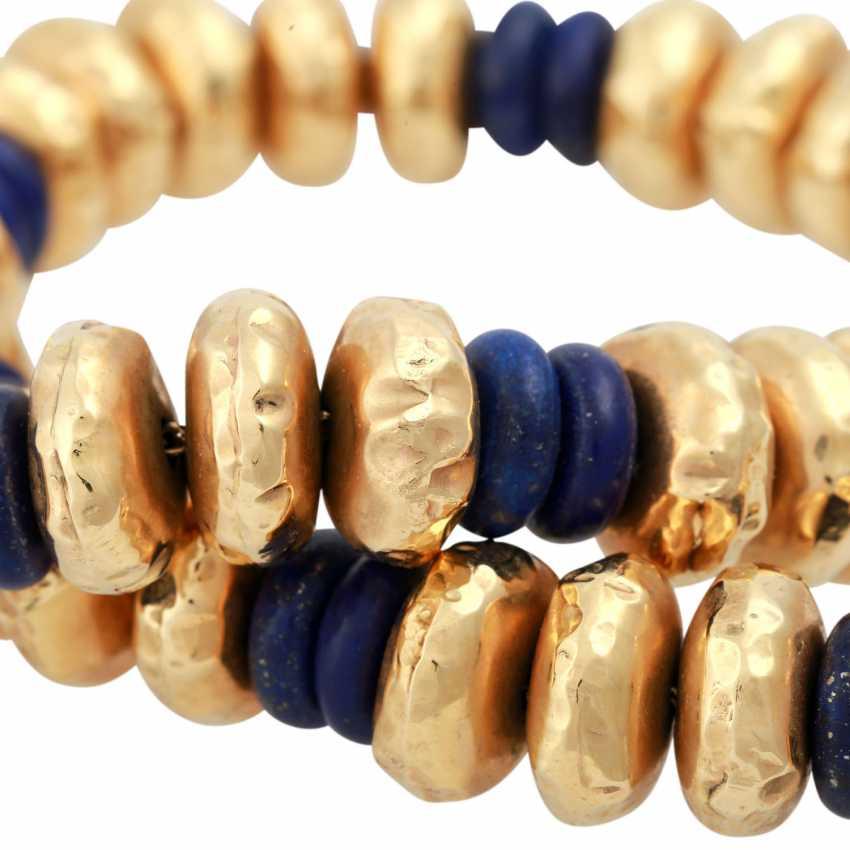 Collier of lapis lazuli - photo 6