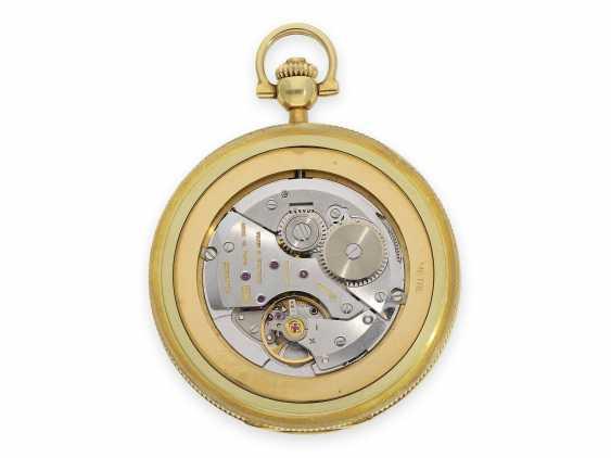 "Pocket watch: extremely rare, mint condition Gold/enamel-Savonnette ""Venezia"", Longines No. 52952854, 70s, with original box! - photo 6"