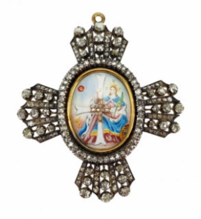 Russia: order of the Holy great Martyr Catherine, the decoration of the 1. Class. - photo 1