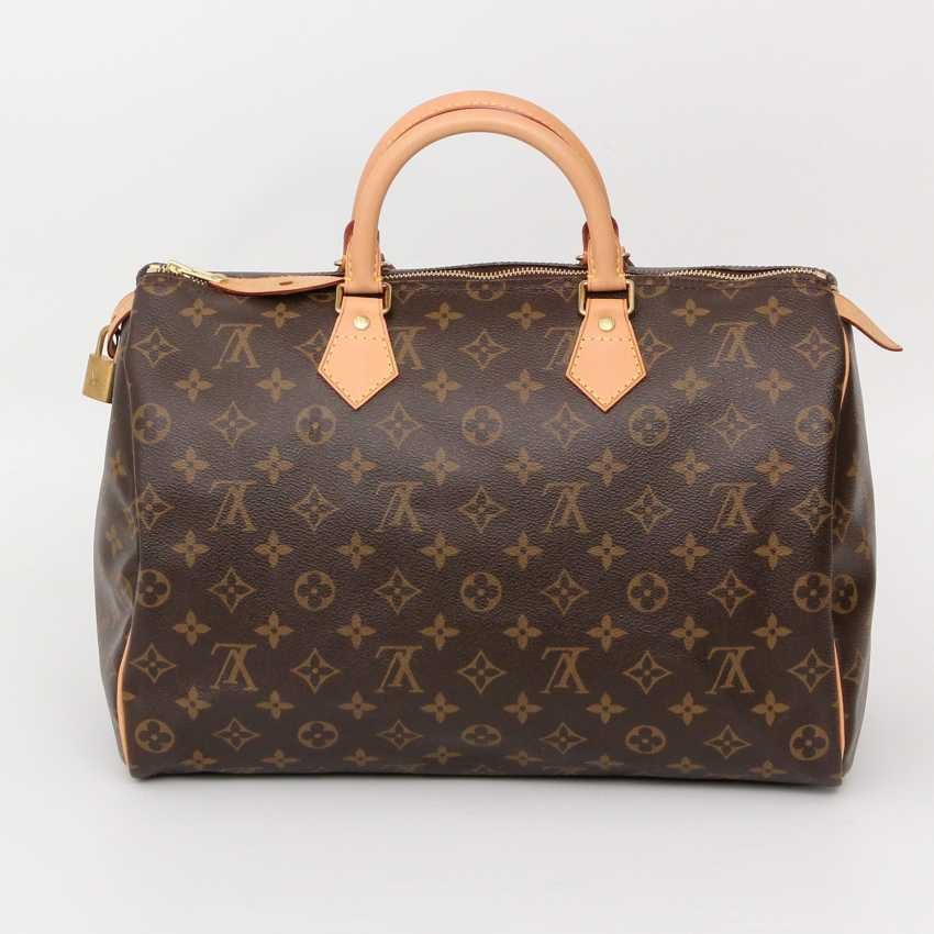 louis vuitton klassische henkeltasche speedy 35 neupreis ca 775 los 19. Black Bedroom Furniture Sets. Home Design Ideas