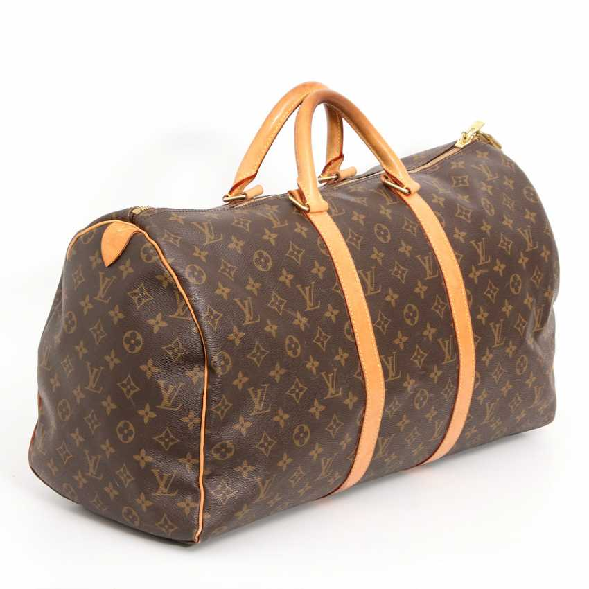 louis vuitton beliebte reisetasche keepall 50 kollektion 2000 los 22. Black Bedroom Furniture Sets. Home Design Ideas