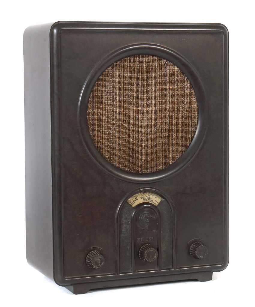 """People's receivers """"VE 301 Wn"""" brown, 1930s - photo 1"""