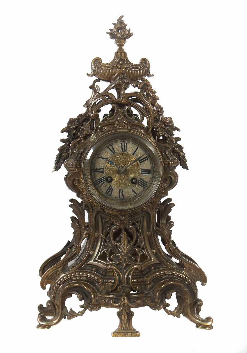 Historicism-Mantel Clock Lenzkirch, Germany - photo 1