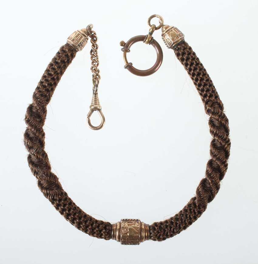 Watch chain 2. Half of the 19th century. Century Biedermeier - photo 1