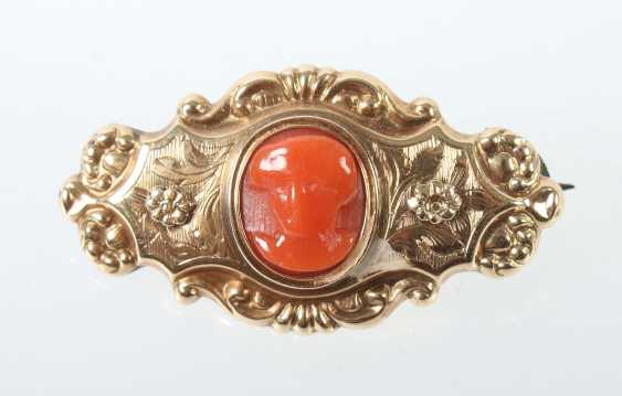 Historicism-Brooch At The End Of 19th Century. Century - photo 1