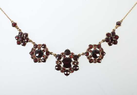 Garnet Necklace Mid 20's. Century - photo 1