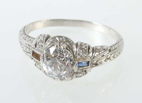 Art Deco ladies ring, 1920/30s - photo 1
