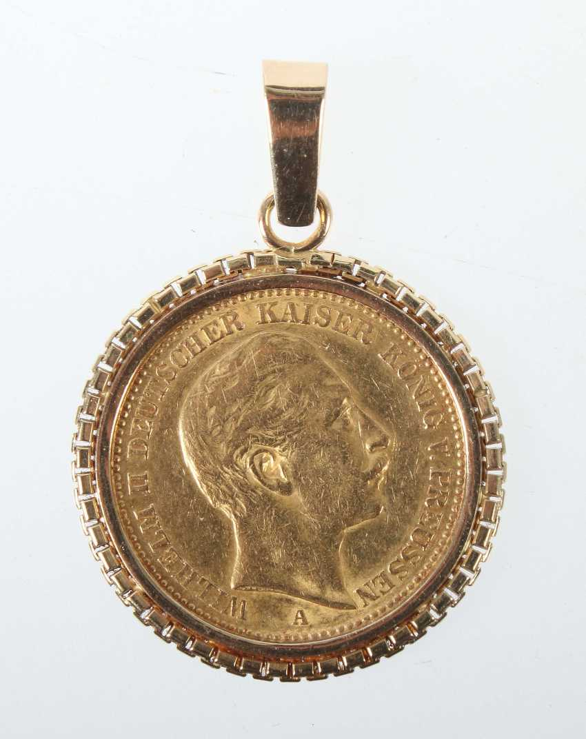 Coin Pendant Early/Mid 20's. Century - photo 1