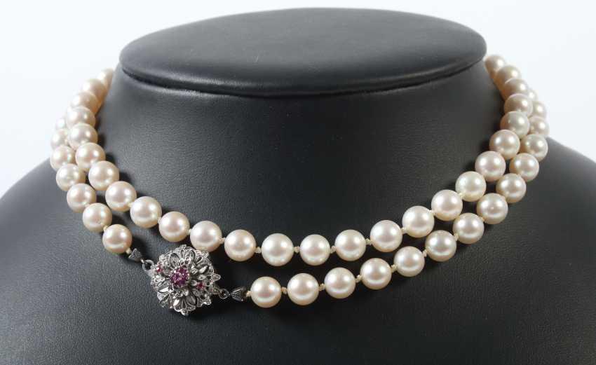 Bead chain 20. Century - photo 1