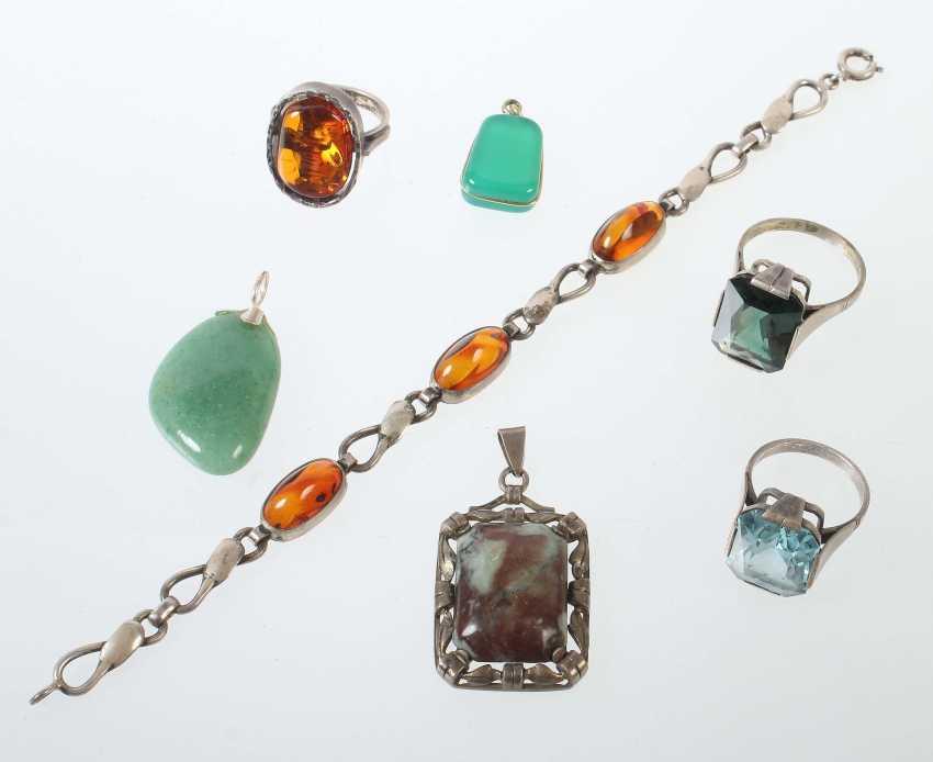 Vintage Silver Jewelry 20. Century - photo 1