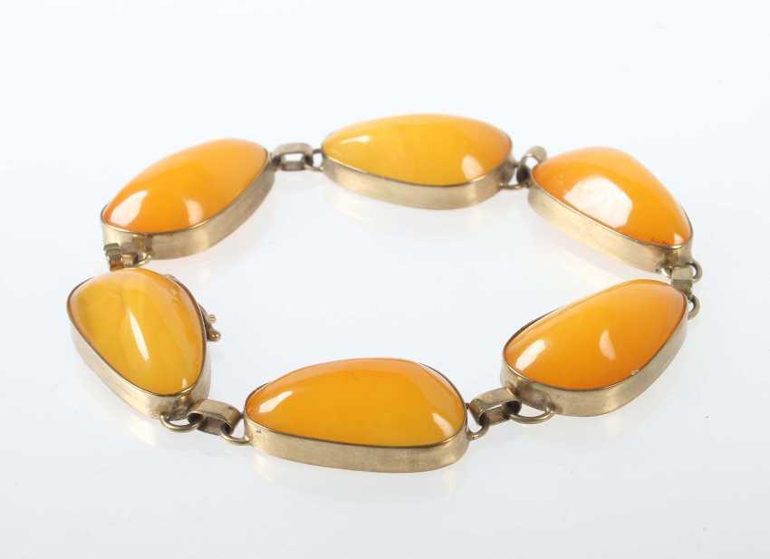 Amber bracelet 1970/80s - photo 1