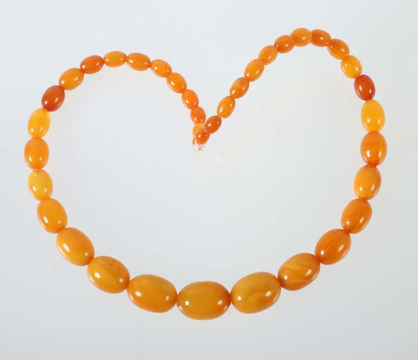 Butterscotch Beads Early/Mid 20's. Century - photo 1